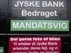 Fundamentet i jyske bank er ærligt og åbent - Vi overholder alle love og regler skriver jyske bank alle steder, Men er der de sande værdier i jyske bank