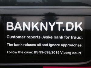 Tør du stole på jyske bank kke også stjæler og bedrager dig. - Hvis der er tale om misforståelser hvorfor svare jyske bank så ikke