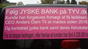 Følg jyske bank sagen på tyv.dk