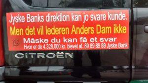 Det er Anders Dam der skaber offenlig Skriveri, et dialog møde ville have stoppet dette her allerede i maj 2016, da Anders Dam af kunde blev oplyst at her var nok tale om bedrageri