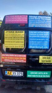 Jyske bank lyver for syg kunde