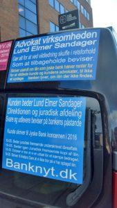 Mon ikke der er noget om snakken Jyske bank lyver, og Lund Elmer Sandager hjælper til for at skuffe i retsforhold