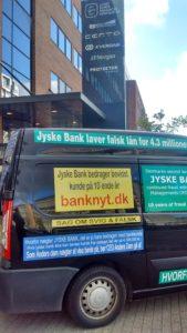 Er det nogle hæderlige banker i Danmark, nu vi ikke kan stole på jyske bank