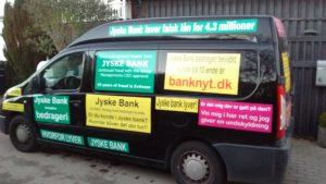 #gratis #jysk reklame om hæderlighed troværdighed ærlighed  Om at drive en redelig jyskebank