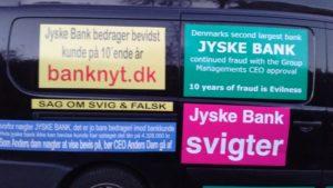 Koncernledelsen i jyske bank svigtet bankens fundament og vedtægter om at drive en redelig bank