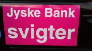 Jyske bank svigter bedraget kunde Og fortsætter svig foretning