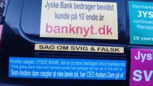 Anders Dam går af som ordstyrende formand i jyske bank Hvis Anders vil undskylde bedrageri imod kunde